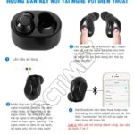 Cách kết nối tai nghe bluetooth ASONIC X6 với điện thoại