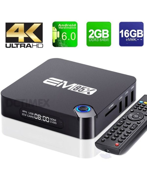 Android TV Box ENY (EM95X) RAM 2GB ROM 16GB