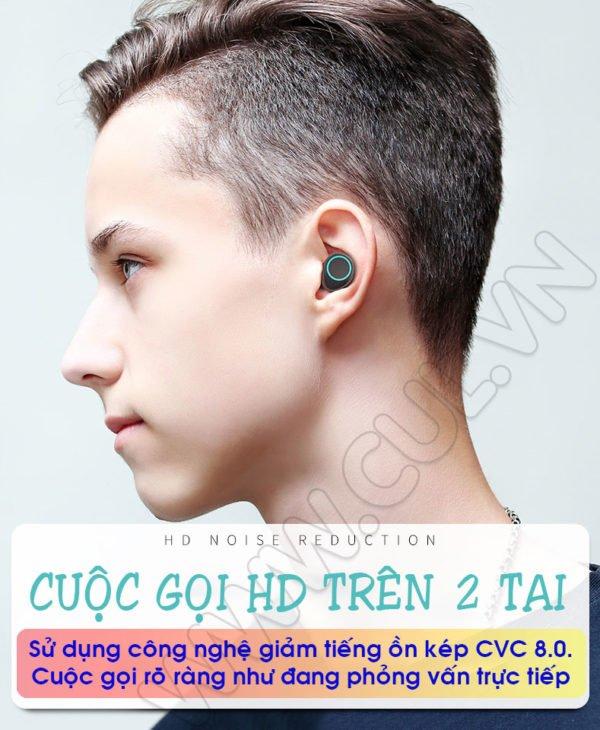 Tai Nghe Bluetooth Asonic X9 Plus - Giảm Tiếng Ồn